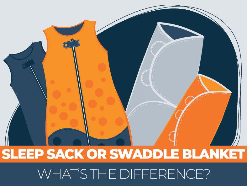 The Difference Between Sleep Sack and Swaddle Blanket