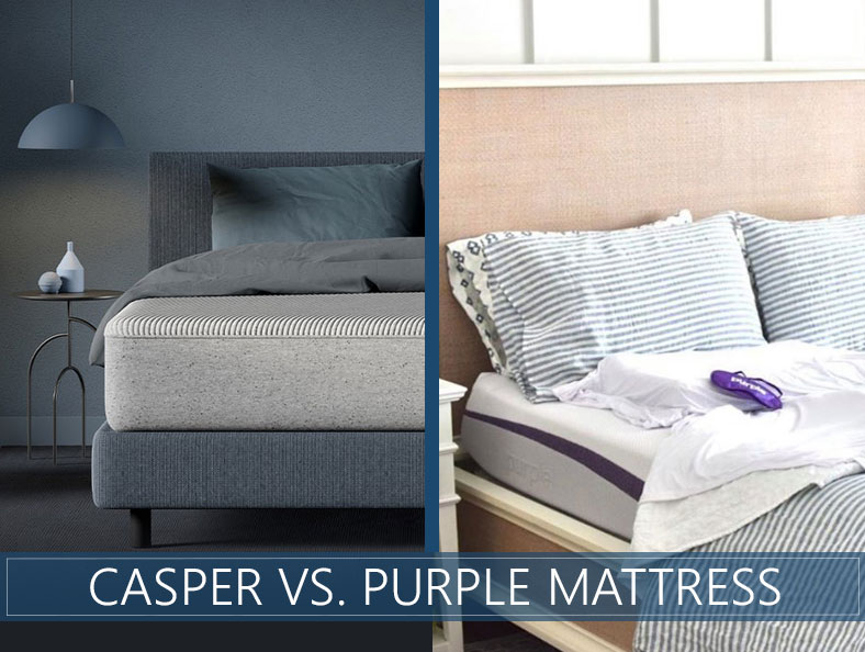casper versus purple bed