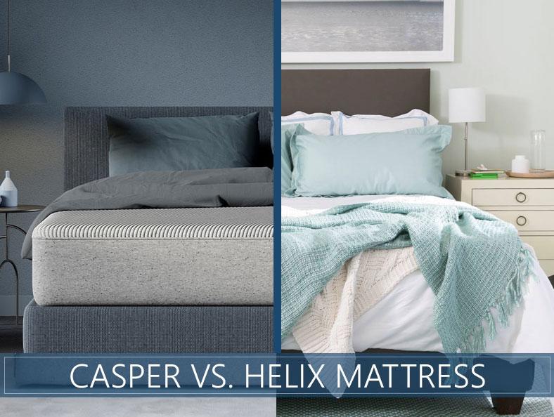 casper vs helix bed analysis