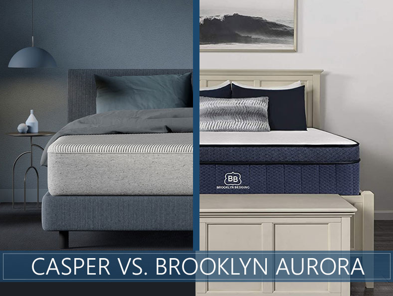 our casper and brooklyn aurora comparison