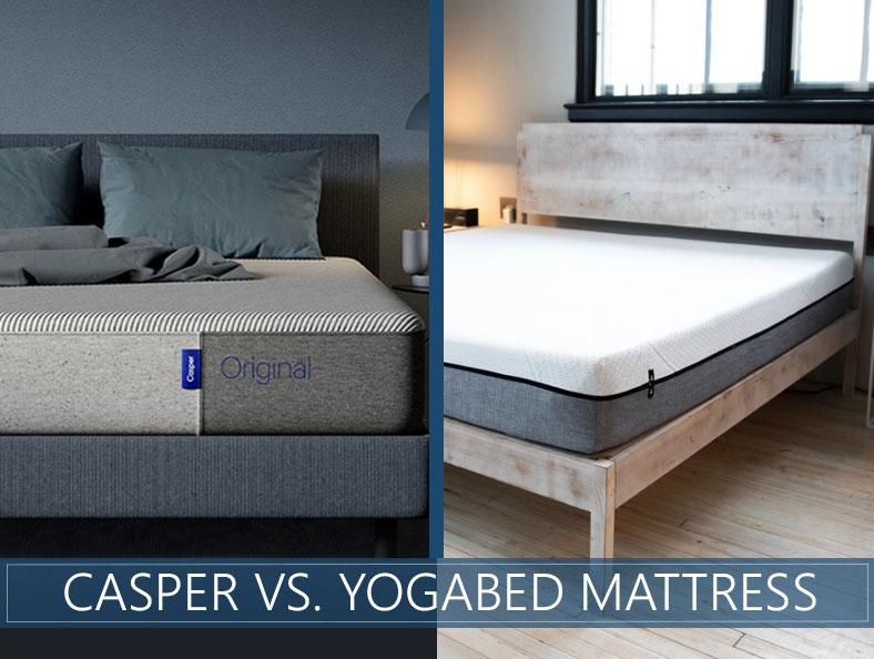 our casper and yogabed comparison
