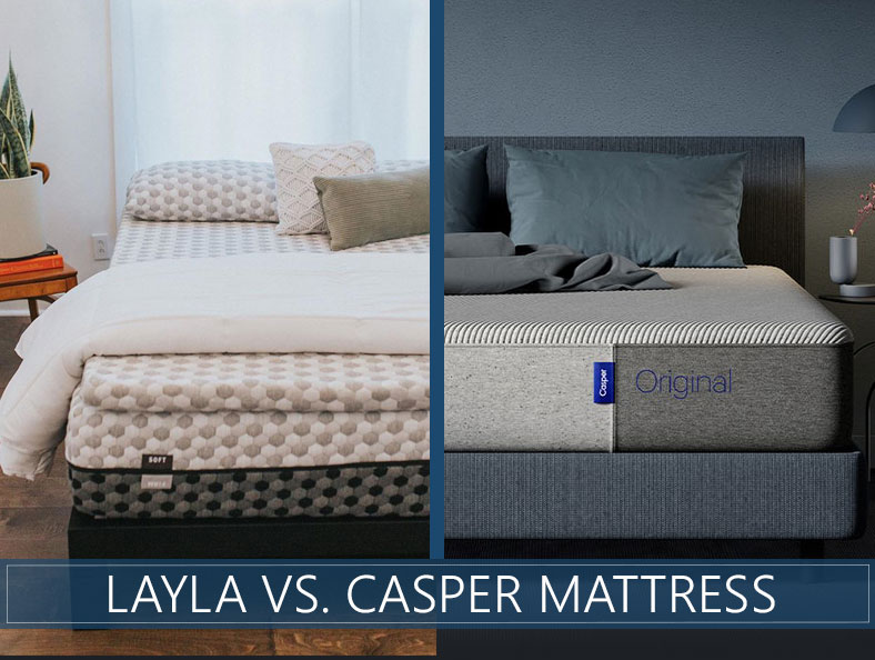 our layla and casper comparison