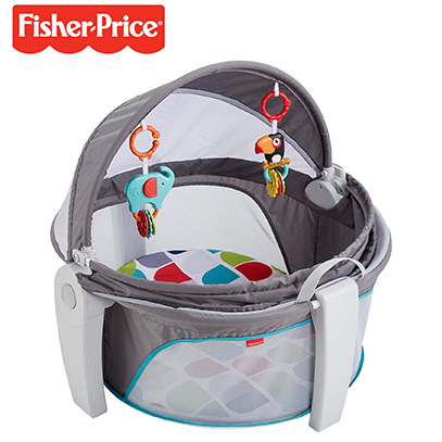 product image of fisher price travel crib