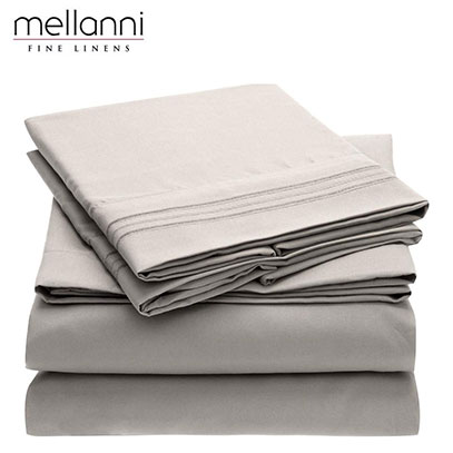 product image of mellanni sheets for bed
