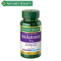 product image of nature's bounty supplement for sleeping small