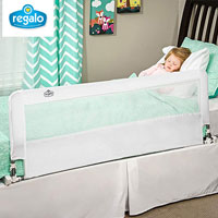 product image of regalo extra long baby guard bed small