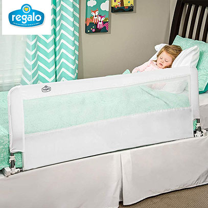 product image of regalo extra long baby guard bed