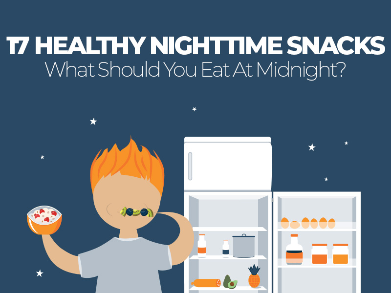 17 Healthy Nighttime Snack Options