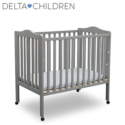DELTA CHILDREN MINI CRIB PRODUCT IMAGE