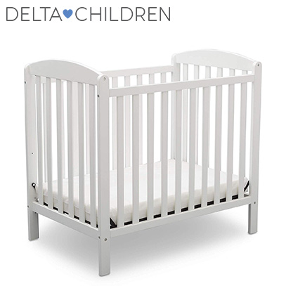 DELTA CHILDREN PRODUCT IMAGE OF MINI CRIB