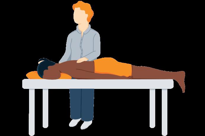 Full Body Massage- Illustration