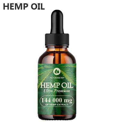 Product image of hemp oil nutrihemp