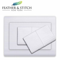 feather and stitch deep pocket sheet product image small