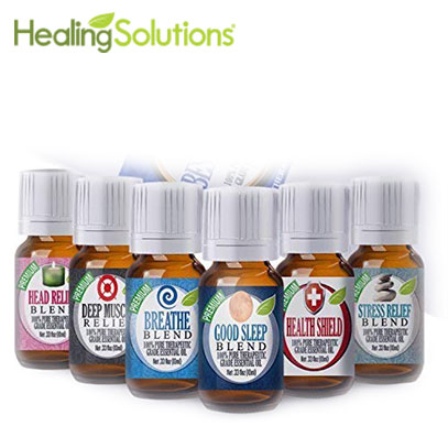 product image of essential oil healing solutions