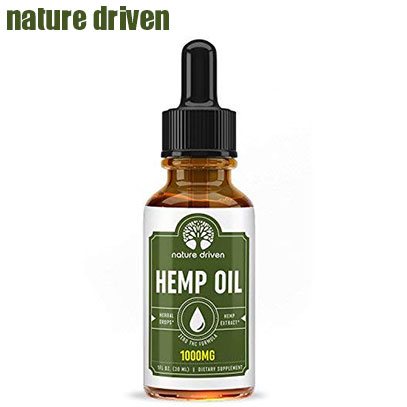 product image of nature driven hemp oil