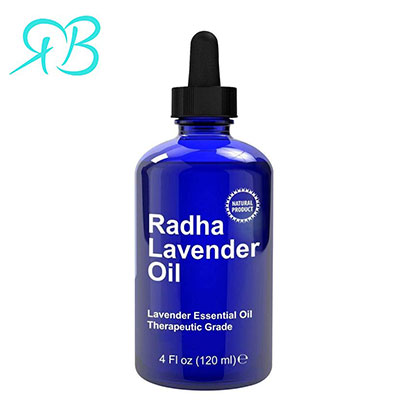 product image of radha lavender oil