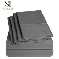 product image of sweet home collection deep pocket sheet small