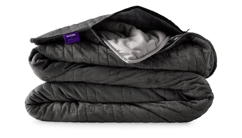 weighted blanket purple product image