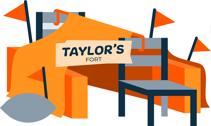 Illustration of Pillow Fort