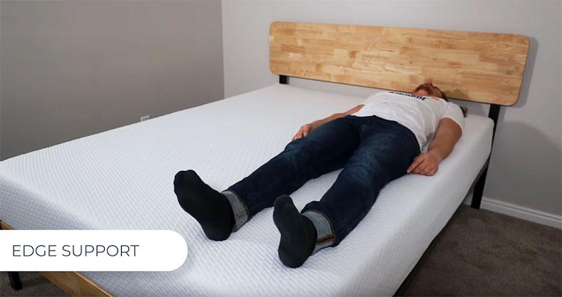 Tuft and Needle Original mattress edge support test