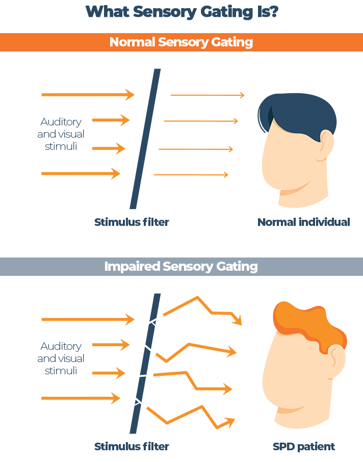 What Sensory Gating Is Graphic