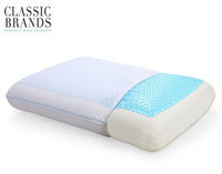 classic brand gel pillow product image with the logo small