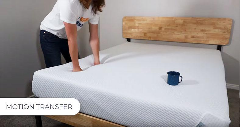 motion isolation tuft and needle mattress