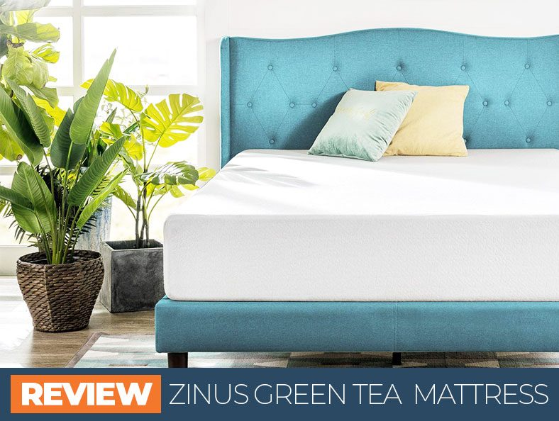 review of the zinus green tea bed