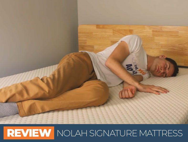 our in depth nolah signature bed