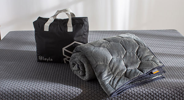 product image of layla weighted blanket
