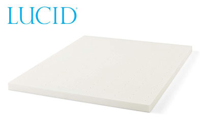 product image of lucid topper white