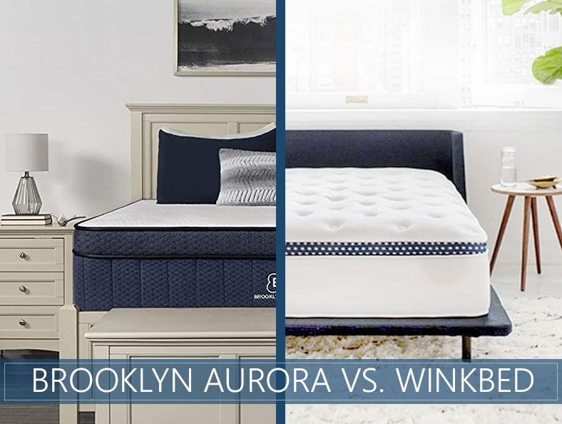 Brooklyn Aurora vs WinkBed Comparison