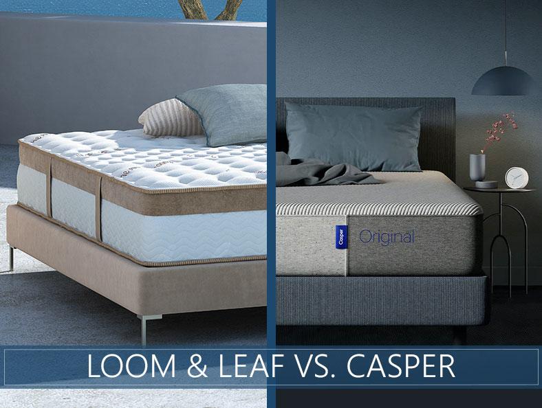 Loom and Leaf vs Casper Comparison