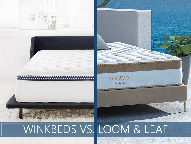 Loom and Leaf vs Winkbeds Comparison