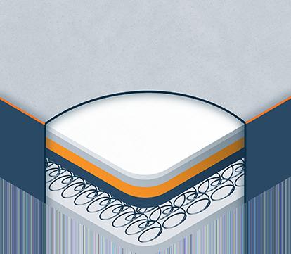 Medium Illustration of Innerspring Mattress