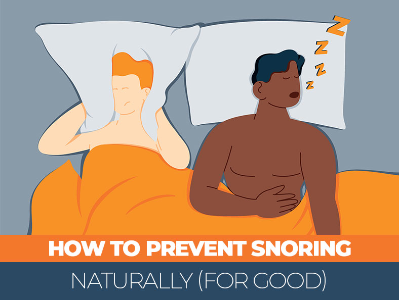 Prevent Snoring at Night Naturally