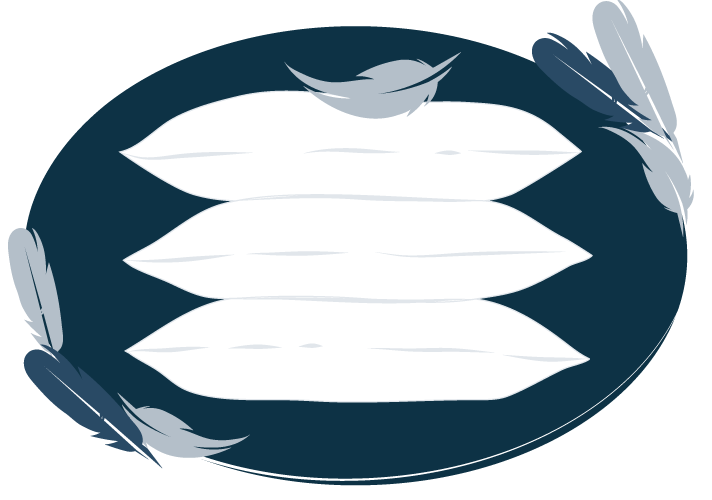 illustration of feather pillows