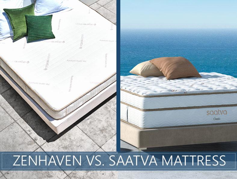our comparison of zenhaven and saatva