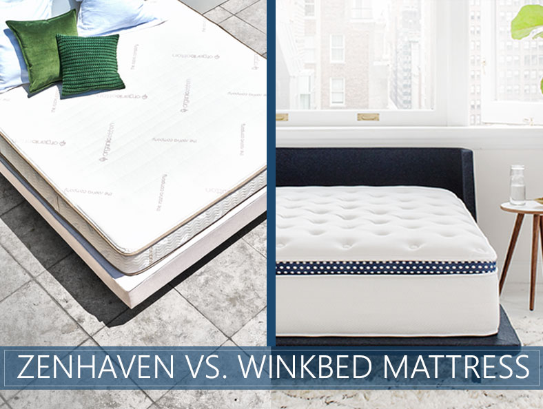 our comparison of zenhaven and winkbed