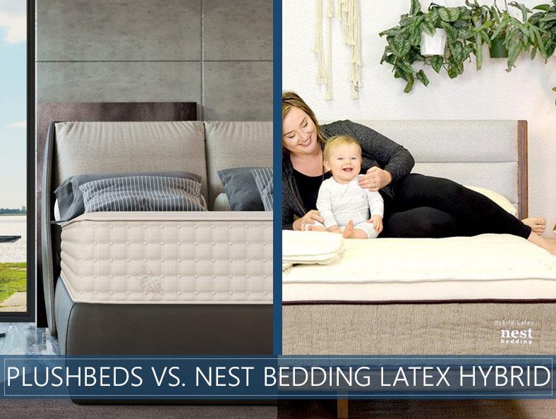 nest bedding latex hybrid comparison image