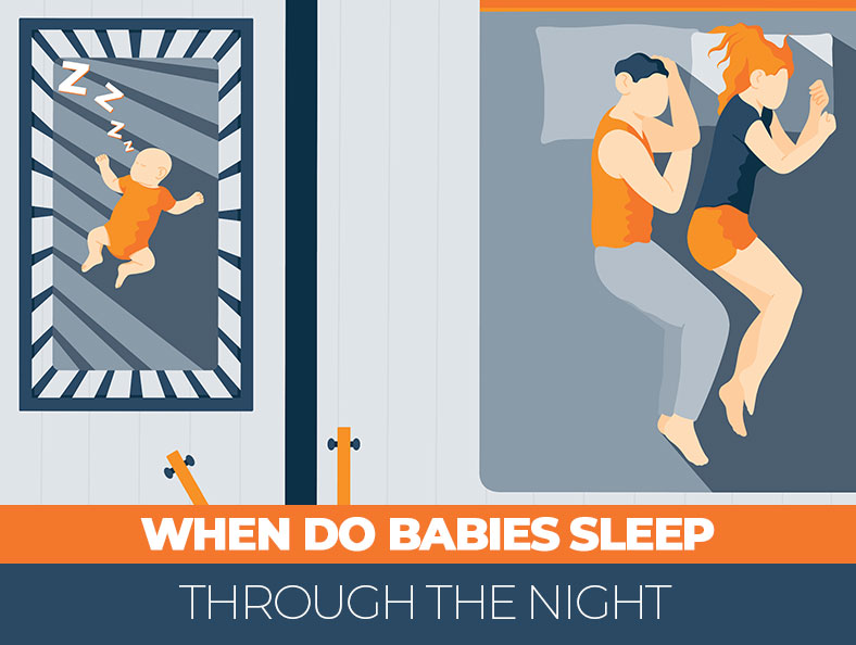 Babies sleep through the night