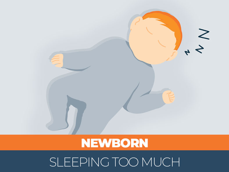 Does your newborn sleep excessively