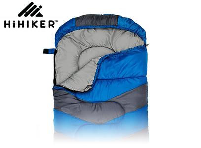 HiHiker blue single sleeping bag product image