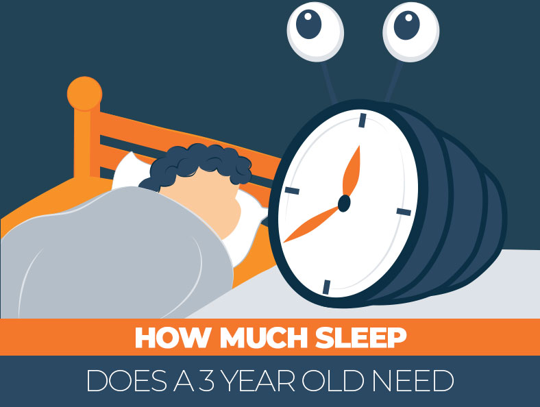 How much sleep is enough for 3 year old kid