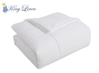 KingLinen product image of white down comforter small