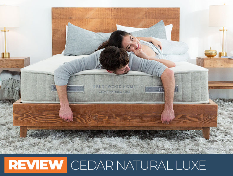 Our in depth overview of the Brentwood Cedar Natural Luxe mattress