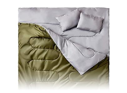 Product image of Sleepingo Double Sleeping bag for backpacking or camping