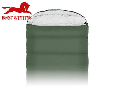Product image of honest outfitters green camping bag