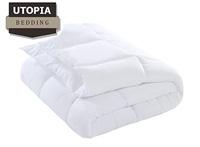 Product image of white alternative down comforter Utopia Bedding brand small