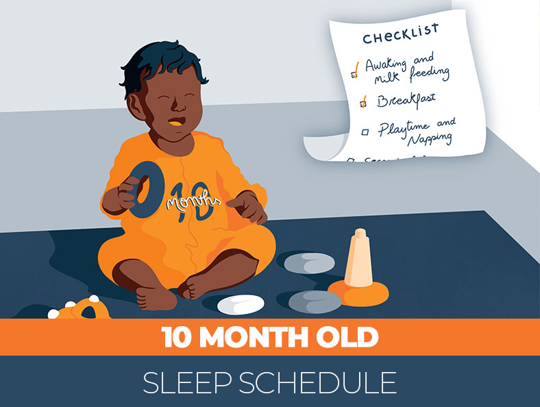 Sleep Checklist for your 10 month old baby
